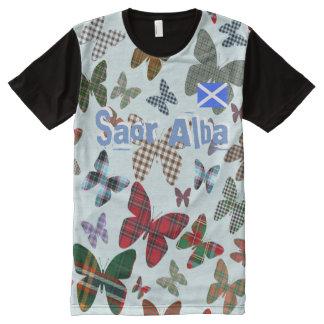 Schottische Unabhängigkeit Saor T-Shirt Mit Bedruckbarer Vorderseite