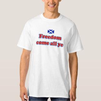 Schottische Unabhängigkeits-Freiheit kommen aller T-Shirt