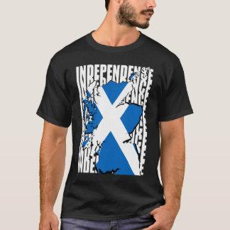 Schottische Unabhängigkeits-Karte T-Shirt