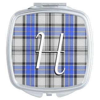 Schottischer Schönheits-Clan Hannay Tartan kariert Taschenspiegel