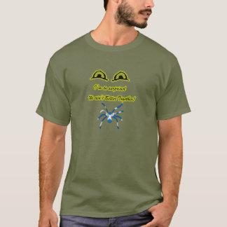 Schottischer Unabhängigkeit Saltire Spinnen-T - T-Shirt