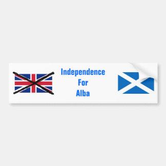 Schottischer Unabhängigkeits-Autoaufkleber Autoaufkleber