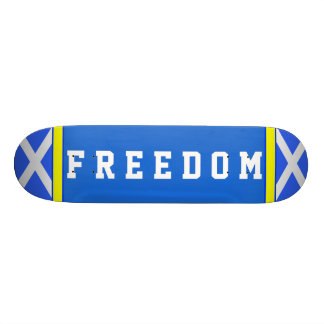 Schottisches Unabhängigkeits-Freiheit Saltire 19,1 Cm Old School Skateboard Deck