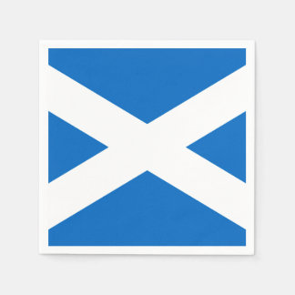 Schottland-Flaggen-Freiheit Servietten