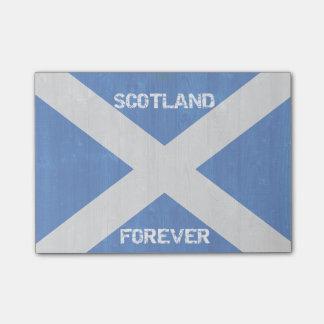 Schottland für immer Posten-it® merkt 4 x 3 Post-it Klebezettel