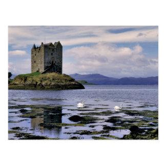 Schottland, Hochland, Wester Ross, Jäger Postkarte