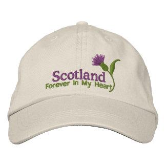 Schottland in meinem Herzen Bestickte Baseballmützen