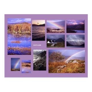 Schottland-Postkarte