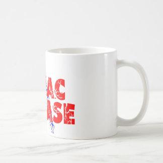 Schrauben-Zöliakie Kaffeetasse
