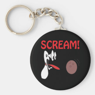 Schrei Schlüsselanhänger