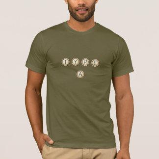 Schreiben Sie As-Schlüssel T-Shirt