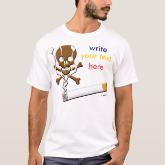 schreiben Sie Ihnen Text hier T-Shirt