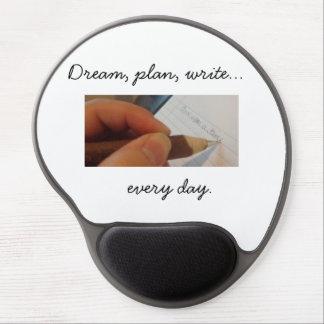 Schreiben Sie jeden Tagesgel Mousepad