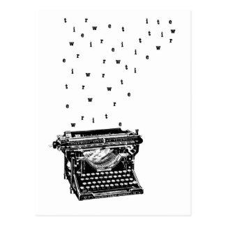 Schreiben Sie Postkarte