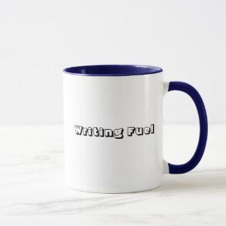 Schreibens-Brennstoff-Tasse Tasse