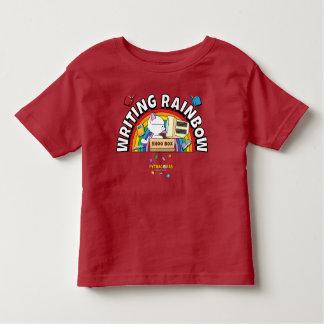 Schreibens-Regenbogen-Kleinkind-Shirt Kleinkind T-shirt