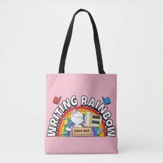 Schreibens-Regenbogen-Tasche Tasche