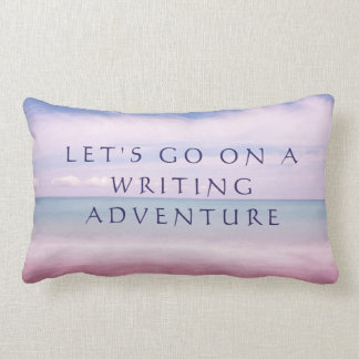 Schreibenskissen, cooles Verfassergeschenk Lendenkissen