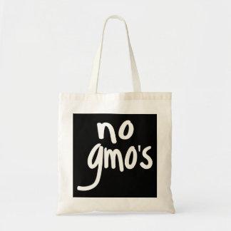 Schreien keines GMOs schützen unser Tragetasche