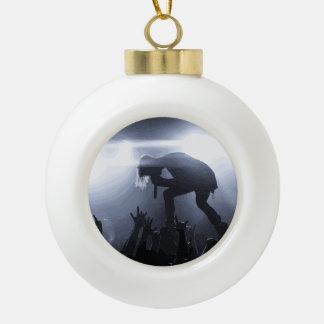 Schreien Sie es heraus! Keramik Kugel-Ornament
