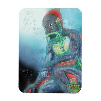 SCHREIENDE SUPPE! Unterwasserwels-Magnet Magnet