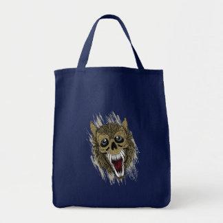 Schreiender Werewolf Tragetasche