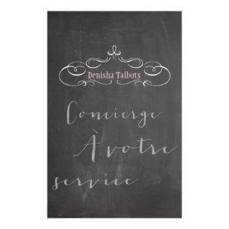 Schriftart PixDezines Tafel/concierge/DIY 14 X 21,6 Cm Flyer