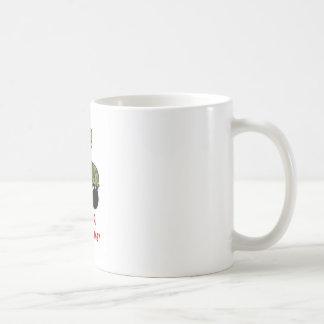 Schritt auf mir! kaffeetasse
