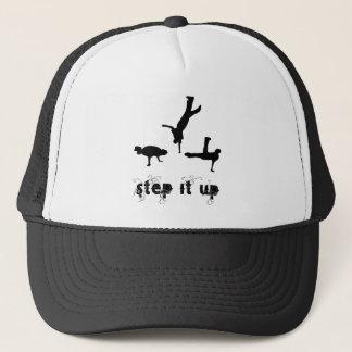 Schritt es hohes Tanz-Shirt Truckerkappe
