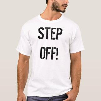Schritt weg vom Shirt