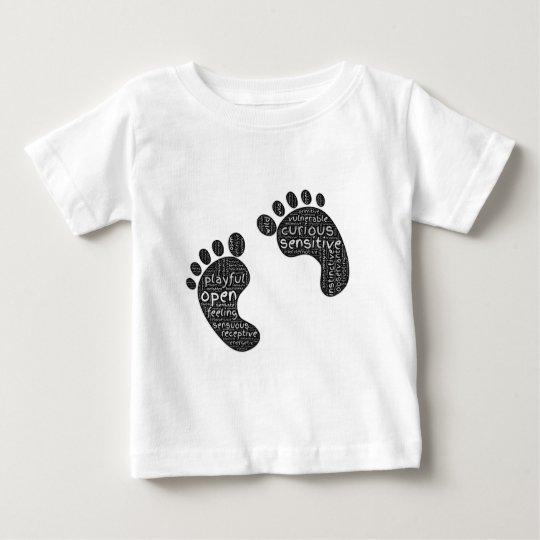 Schritte Baby T-shirt