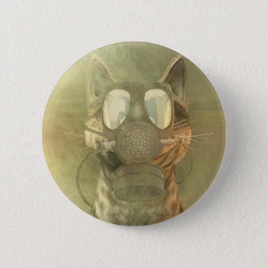 Schrödinger unterschätzt den Katzenknopf Runder Button 5,1 Cm