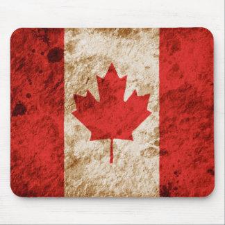 Schroffe kanadische Flagge Mauspad