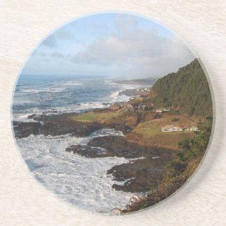 Schroffes Oregonküstenstrand-Ozean-Meer Untersetzer