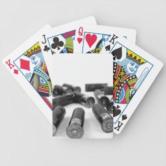 Schrotflinte-Muscheln Bicycle Spielkarten