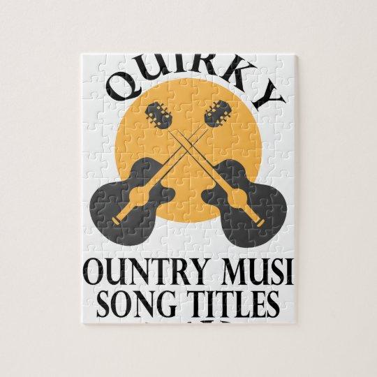 Schrulliges Countrymusik-Lied betitelt Tag