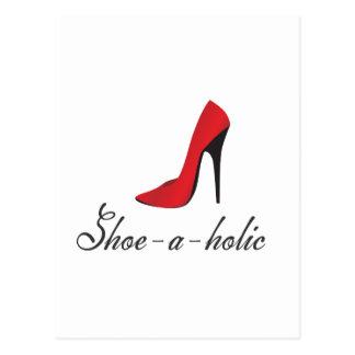 Schuh-ein-holic Postkarte