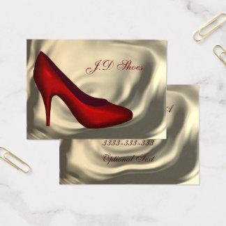 Schuh-Mode-Visitenkarten Visitenkarte