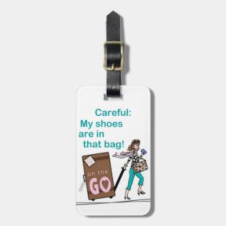Schuh-Tasche Gepäckanhänger