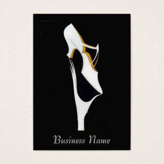 Schuh-Verkaufs-Visitenkarte Visitenkarte