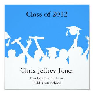 SchulAbschluss-Einladungen neu Quadratische 13,3 Cm Einladungskarte