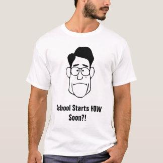 Schulanfänge WIE bald T-Shirt