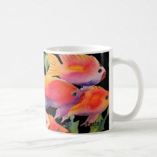 Schule der Fische, Kaffee-Tasse Kaffeetasse