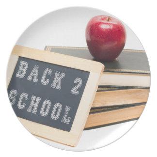 Schule der Rückseiten-2 Essteller