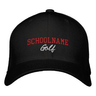 Schulgeist-Golf - gestickter Hut - PERSONIFIZIEREN Bestickte Kappe