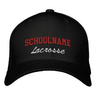 SchulgeistLacrosse - gestickter Hut