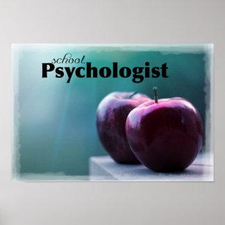 Schulpsychologe-Büro-Plakat Poster