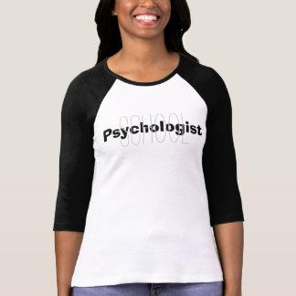 Schulpsychologe-Überlagerungs-T-Shirt T-Shirt