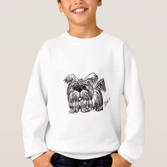 Schuss ein Staub-Mopp-Hund Sweatshirt