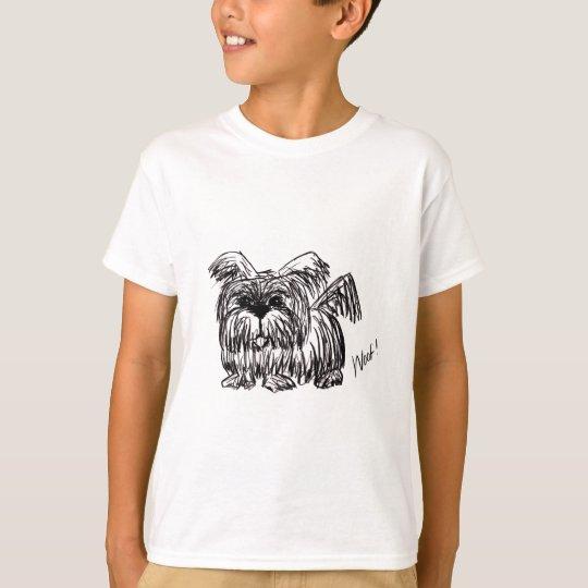 Schuss ein Staub-Mopp-Hund T-Shirt